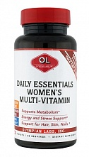 картинка OLYMPIAN LABS, Daily Essential multi WOMENs от магазина TSP-SHOP
